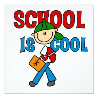 Boy School is Cool Announcement