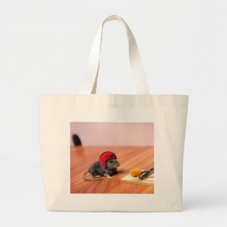 Boy Scout Mouse Large Tote Bag