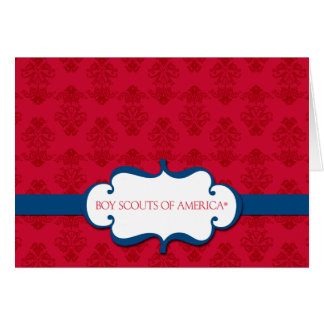 Boy Scouts of America Note Card