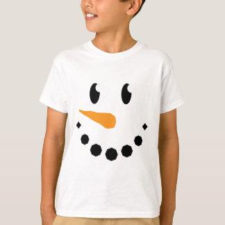 Boy Snowman T-shirt (Design 1)