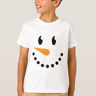 Boy Snowman T-shirt (Design 3)