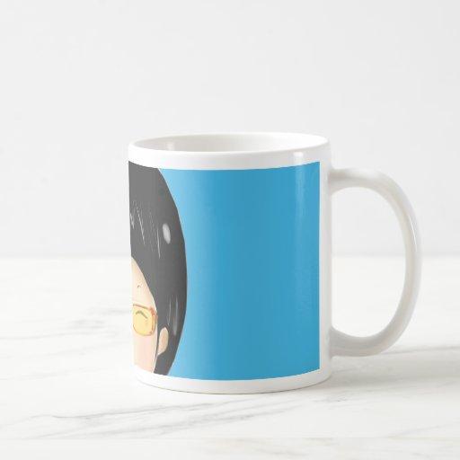 Boy sunglass mug