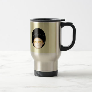 Boy sunglass coffee mug