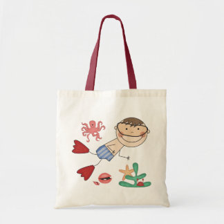Boy Swimming T-shirts and Gifts Tote Bag