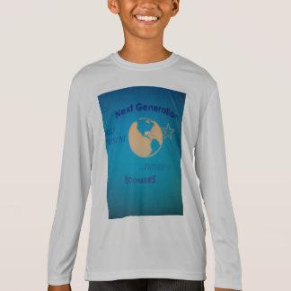 Boy T-Shirt Silver long-sleeve Next Generation...