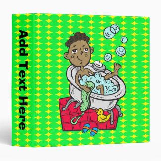 Boy Taking Bath Binders