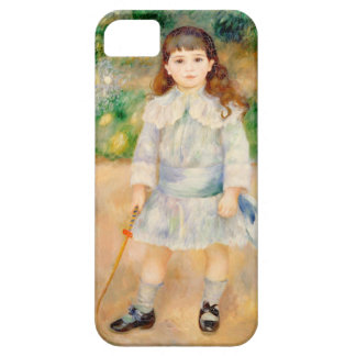 Boy with a Whip, Auguste Renoir iPhone 5 Cover