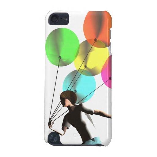 Boy with Balloons case iPod Touch 5G Cover