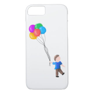 Boy with Balloons i-Phone 7/8 Case