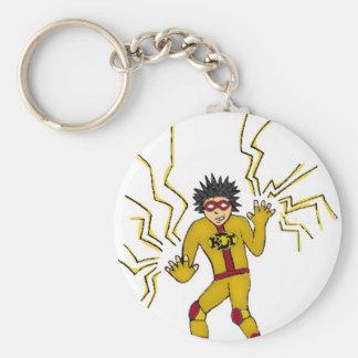 Boy Wonder KDT Super Hero Basic Round Button Keychain