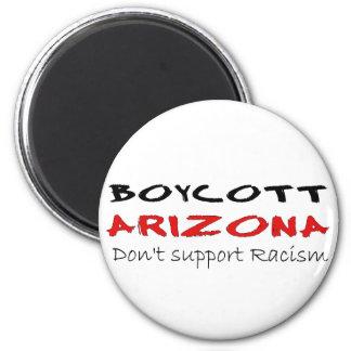 Boycott Arizona 2 Inch Round Magnet