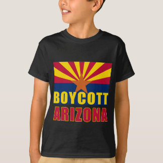 BOYCOTT ARIZONA Tshirts, Buttons, Hoodies