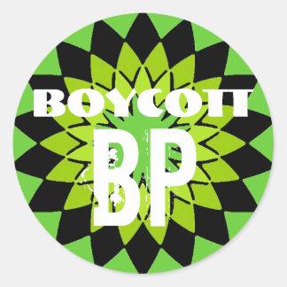 BOYCOTT BP - 6 sticker pack