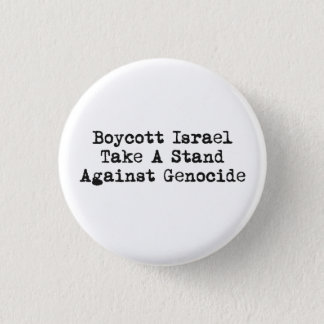 Boycott Israel Button