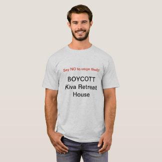 Boycott Kiva T-Shirt, NO LOGO (Men's) T-Shirt