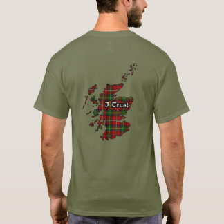 Boyd Clan Badge and Tartan Adult T-Shirt