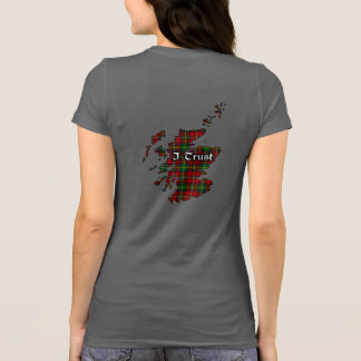 Boyd Clan Badge and Tartan Women's T-Shirt