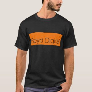 Boyd Digital Black T-Shirt