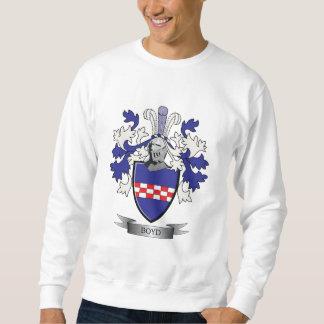 Boyd Family Crest Coat of Arms Sweatshirt