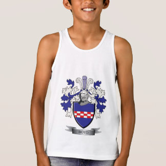 Boyd Family Crest Coat of Arms Tank Top