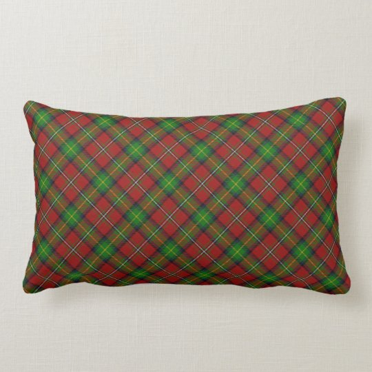 Boyd Scottish Clan Tartan Lumbar Pillow