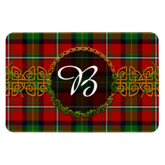 Boyd Tartan And Monogram Magnet