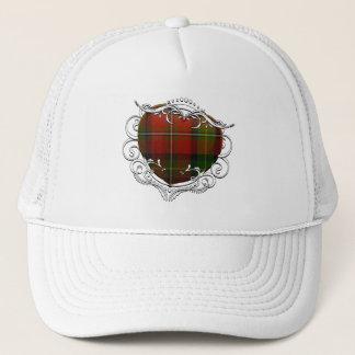 Boyd Tartan Heart Trucker Hat