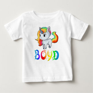Boyd Unicorn Baby T-Shirt