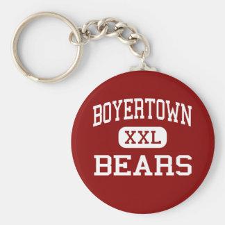 Boyertown - Bears - Area - Boyertown Pennsylvania Basic Round Button Keychain