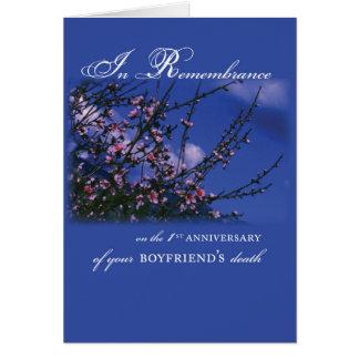 Boyfriend, Remembrance 1st Anniversary Card