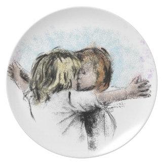 boygirl dinner plate
