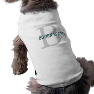 Boykin Spaniel Breed Monogram Pet Clothes