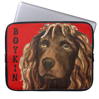 Boykin Spaniel Color Block Laptop Sleeve