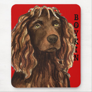 Boykin Spaniel Color Block Mouse Pad