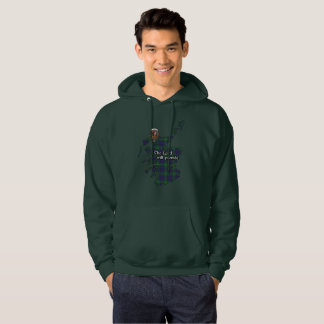 Boyle Clan Badge and Tartan Adult Hoodie