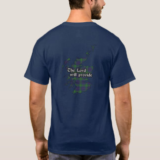 Boyle Clan Badge and Tartan Adult T-Shirt