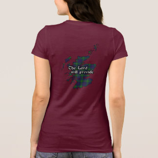 Boyle Clan Badge and Tartan Women's T-Shirt