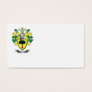 Boyle Coat of Arms Business Card