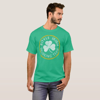 Boyle Irish Drinking Team T-Shirt
