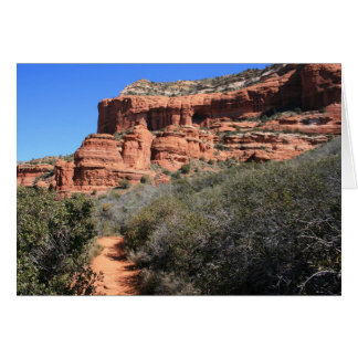 Boynton Canyon Trail Card