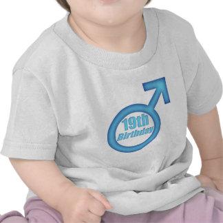Boys 19th Birthday Gifts T Shirt