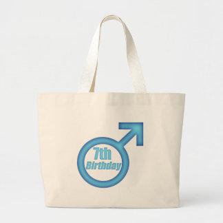 Boys 7th Birthday Gifts Canvas Bag