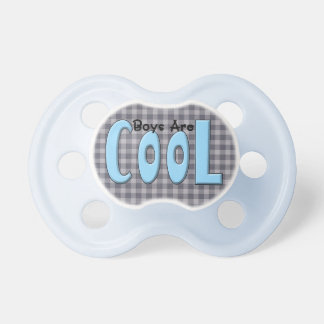 Boys are Cool BooginHead Baby Pacifier