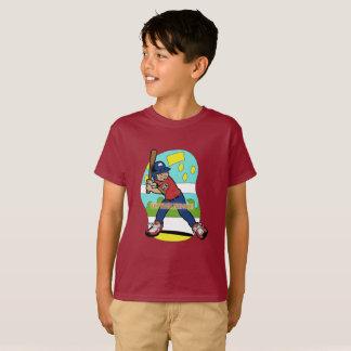 Boys Baseball theme t-shirt