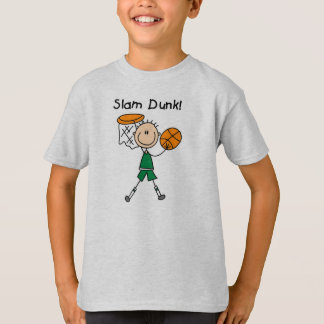 Boys Basketball Slam Dunk T-Shirt