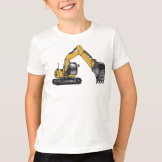 Boy's Big Caterpillar Excavator T-Shirt
