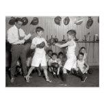 Boys' Boxing Club, 1925 Post Card