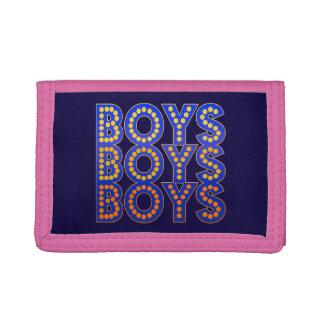 Boys Boys Boys Trifold Wallet