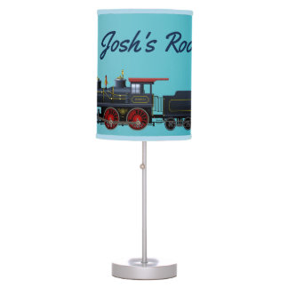 Boys Choo Choo Train Table Lamp