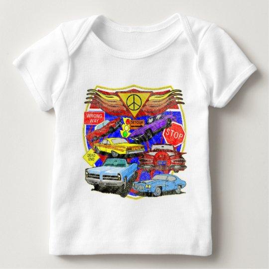 Boys Classic Cars Baby T-Shirt